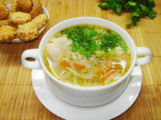 Суп-лапша куриная в мультиварке рецепты