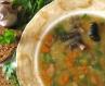 Гороховий суп з грибочками
