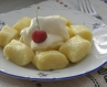 Книдлі (ліниві вареники) з сиром