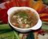 Курячий суп з замороженими овочами