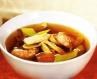 Китайський рибний суп з креветками