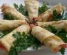 Млинці з овочами та сиром