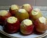 Печені яблучка з сиром