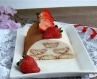 Полуничний десерт за мотивами тірамісу