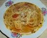 Помідорний суп з куркою та макаронами