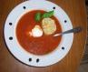 Суп з беконом, квасолею та часником