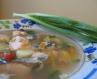 Суп з консервованої сардини